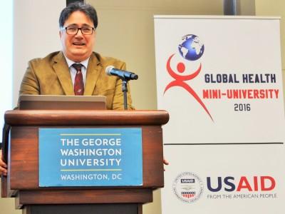 Dr. Ariel Pablos-Mendez, USAID